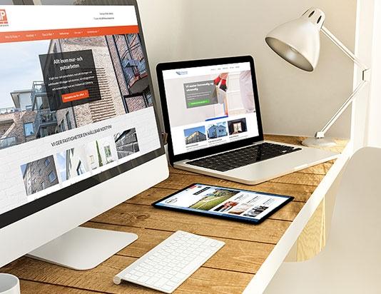 Digital marknadsföring och webbsidor